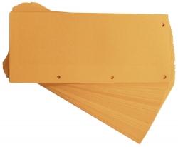 Trennstreifen Duo 160 g/qm Karton - orange, 60 Stück
