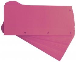 Trennstreifen Duo 160 g/qm Karton - pink, 60 Stück