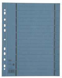 Trennblätter mit Perforation - A4 Überbreite, blau, 100 Stück