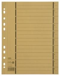 Trennblätter mit Perforation - A4 Überbreite, gelb, 100 Stück
