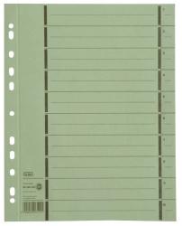 Trennblätter mit Perforation - A4 Überbreite, grün, 100 Stück