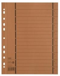 Trennblätter mit Perforation - A4 Überbreite, orange, 100 Stück