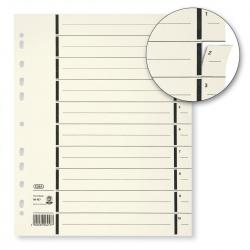 Trennblätter mit Perforation - A4 Überbreite, chamois, 100 Stück