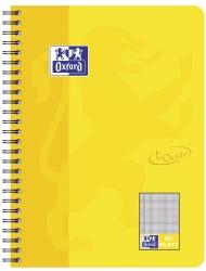 Collegeblock Touch - B5, 80 Blatt, 90 g/qm, kariert, sonnengelb