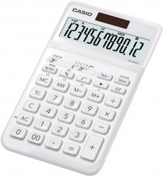 Tischrechner JW-200 - Solar-/Batteriebetrieb, 12stellig, LC-Display, weiß