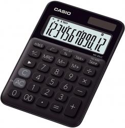 Tischrechner MS-20 - Solar-/Batteriebetrieb, 12stellig, LC-Display, schwarz