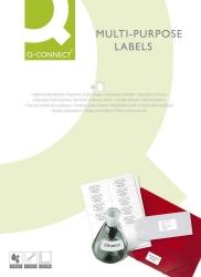 Inkjet+Laser+Kopier-Etiketten - 66,0x33,9 mm, weiß, 2400 Stück/100