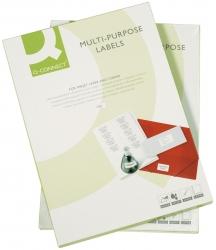 Inkjet+Laser+Kopier-Etiketten - 105,0x42,3 mm, weiß, 1400 Stück/100