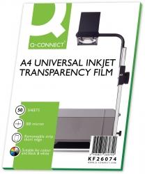 Inkjet-Folien m. Sensorstreifen - A4, 0,10 mm, 50 Folien