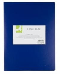 Sichtbuch - 10 Hüllen, Einband PP, 450 mym, blau