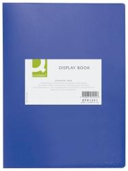 Sichtbuch - 20 Hüllen, Einband PP, 450 mym, blau