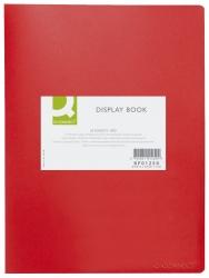 Sichtbuch - 20 Hüllen, Einband PP, 450 mym, rot