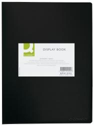 Sichtbuch - 20 Hüllen, Einband PP, 450 mym, schwarz