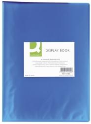 Sichtbuch  - 20 Hüllen, PP transluzent, 250 mym, blau