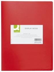 Sichtbuch - 40 Hüllen, Einband PP, 450 mym, rot