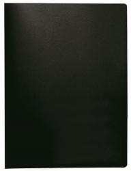 Sichtbuch - 40 Hüllen, Einband PP, 450 mym, schwarz