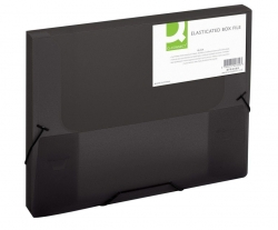 Sammelbox - A4, 250 Blatt, PP, schwarz transluzent