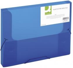 Sammelbox - A4, 250 Blatt, PP, blau transluzent