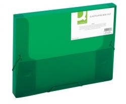Sammelbox - A4, 250 Blatt, PP, grün transluzent