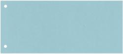 Trennstreifen - 190 g/qm Karton, blau, 100 Stück