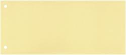 Trennstreifen - 190 g/qm Karton, gelb, 100 Stück