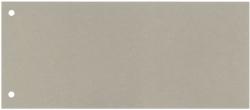 Trennstreifen - 190 g/qm Karton, grau, 100 Stück