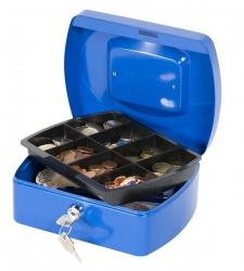 Geldkassette - 205x160x85mm - blau