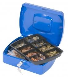 Geldkassette - 255x200x85mm - blau