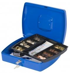 Geldkassette - 325x235x85mm - blau