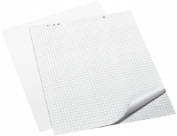 Flipchart-Block, 68 x 99 cm, kariert/blanko, 20 Blatt