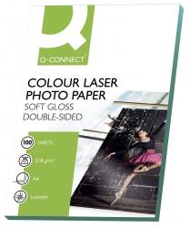 Colour Laser Fotopapier - A4, 210 g/qm, weiß, 100 Blatt