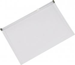 Reißverschlusstasche A4 transparent