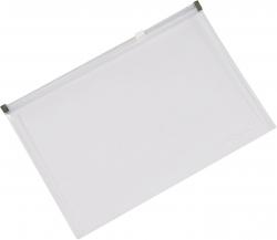 Reißverschlusstasche A5 transparent