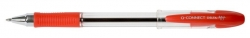 Kugelschreiber Delta, 0,7 mm, rot