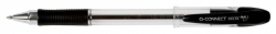 Kugelschreiber Delta, 0,7 mm, schwarz