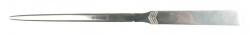 Brieföffner, Metallgriff 24,5 cm