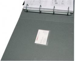 Visitenkartentaschen - Öffnung an der langen Seite, 9,3 x 5,6 cm, 100 Stück