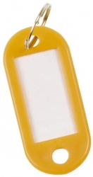 Schlüsselanhänger 10ST gelb