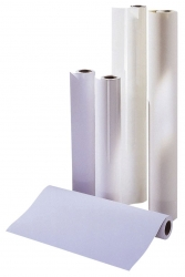 CAD-Plotterpapier - 610 mm x 50 m, 80 g/qm, Kern-Ø 5,08 cm, 4 Rollen