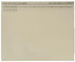 Kanzleihefter B ungefalzt - Rechtsheftung/Linksheftung, 1 Tasche, 1 Abheftvorrichtung, grau