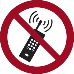 Schild Handyverbot selbstklebend