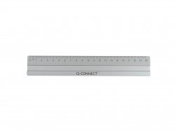Lineal Alu - 20 cm, silber