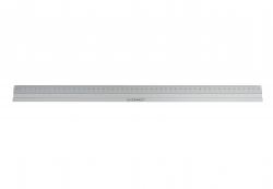 Lineal Alu - 50 cm, silber