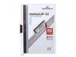 Klemm-Mappe DURACLIP® 60, DIN A4, weiß