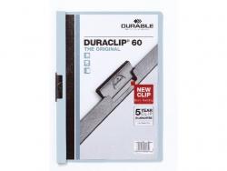 Klemm-Mappe DURACLIP® 60, DIN A4, blau