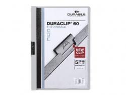 Klemm-Mappe DURACLIP® 60, DIN A4, grau