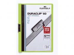 Klemm-Mappe DURACLIP® 60, DIN A4, grün
