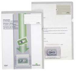 Diktathülle, aus PVC, 0.28 mm, für A4, beige