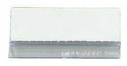 Reiter für Sichttafelsystem SHERPA®  - transparent, 10 Stück