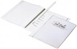 Angebotshefter DURAPLUS® DE LUXE, strapazierfähige Folie, A4, weiß